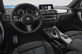 bmw 125i interior 2018 bmw 1 series bows with updated interior tech