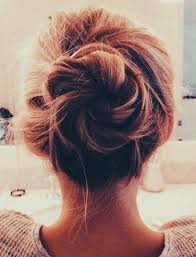 put up hair styles for thin hair best 25 easy messy hairstyles ideas on pinterest buns for long