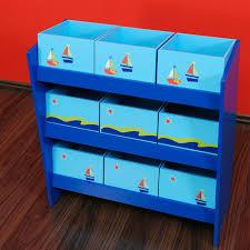boxen regal kinderzimmer mini regal mit kästchen blau