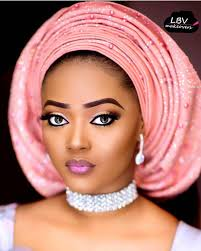 african make and asooke hair styles gorgeous bride eeshalloyd mua lbvmakeovers aso oke