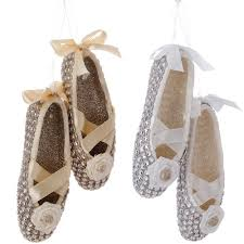 raz imports ballet slipper ornament from elizabeth s embellishments