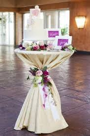I like the idea of using tulle around the edges of the tables for