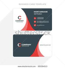 Flat Design Business Card Business Card Stock Images Royalty Free Images U0026 Vectors