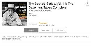 bob dylan basement tapes complete 49 99 u2013 njn network