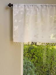 Wide Rod Valances White On White Valance Elegant Window Treatment Romantic Valance
