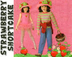 Strawberry Shortcake Halloween Costume Strawberry Shortcake Costume Etsy