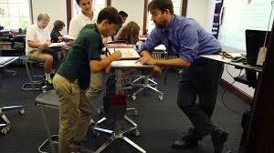 sit stand desk leg kit standing desks for students using to learn cnn onsingularity com