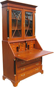 Schreibtisch Antik Biedermeier Sekretär Antik Kirsche Möbel Massiv
