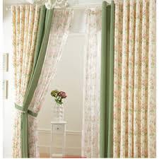 Retro Floral Curtains Drapes For Sale