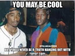 wwe r truth met tupac wrestling memes youtube