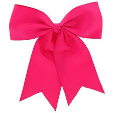 pink big cheer bow on ponytail holder hobby lobby 118342