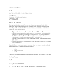 social work cover letter no experience sample social worker for