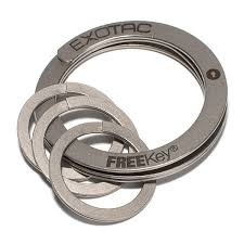 key ring rings images Freekey key ring system thinkgeek jpg