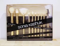 sonia kashuk lavish luxe 10 piece brush set makeup withdrawal