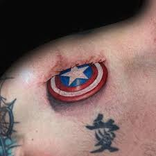 captain america shield tattoo tattoo collections