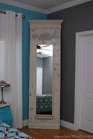 Hanging Door Beads Ikea by Transform A Basic 39 Ikea Stave Mirror From Blah To Amazing By