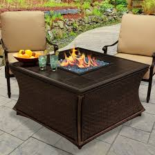 Patio Fire Pit Propane Furniture Heininger Heininger Portable Propane Fire Pit In Black