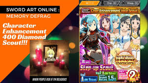 400 md on brand new enhancement scout sao memory defrag youtube