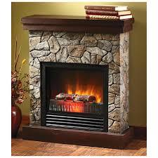 decorative electric fireplace logs interior decoration ideas