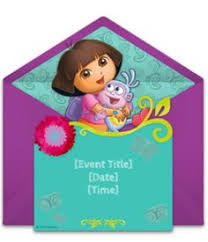 free dora the explorer forest invitations template we and the o