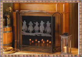 wrought iron fireplace screens wrought iron fireplace screens