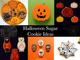 Sugar Cookies For Halloween Good Things By David Halloween Sugar Cookie Ideas