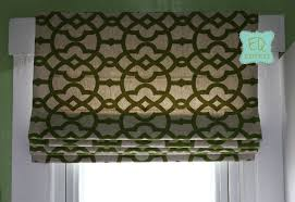 Flat Roman Shades - handmade professional custom flat roman shade window treatment