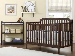 Convertible Cribs With Attached Changing Table Convertible Crib With Changing Table Attached Rs Floral Design