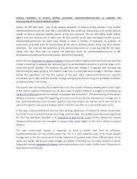 leading statement of interest writing consultant statement of