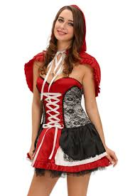 red riding hood halloween costumes cheap wholesale sweet little red riding hood costume dress