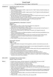 Obiee Business Analyst Entry Level Business Analyst Resume To Get Strategic Analyst Resume Samples Velvet Jobs