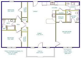 1000 sq ft open floor plans 1000 square foot house plans with basement