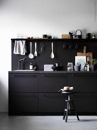 Ikea Kungsbacka COCO LAPINE DESIGN Kitchens Interiors And - Ikea black kitchen cabinets