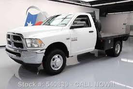 dodge ram 3500 flatbed dodge ram 3500 tradesman reg cab hemi flatbed 2013 commercial