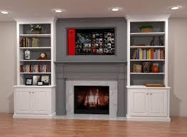built in fireplace binhminh decoration