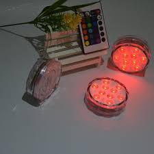 submersible led lights wholesale 2018 wholesale submersible led lights 3aaa battery 10led remote