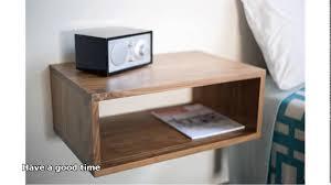 wall mounted nightstand bedside table with design image 3285 zenboa