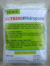 cara membuat cairan hidroponik cara membuat pekatan nutrisi ab mix alat hidroponik