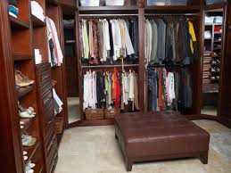 captivatig small walk in dressing room ideas with square brown