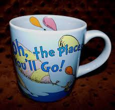 seuss coffee mug tea cup oh the places you u0027ll go theodore geisel