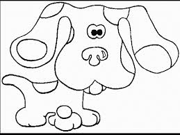blues clues coloring pages pertaining to inspire to color page