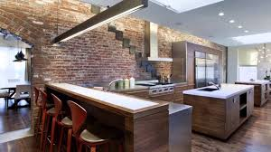 kitchen decorating brick facade interior thin brick veneer brick