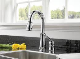 Leland Kitchen Faucet by Faucet Com 9978 Ar Dst In Arctic Stainless By Delta