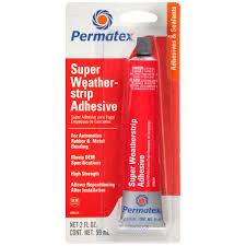 permatex super weatherstrip adhesive permatex