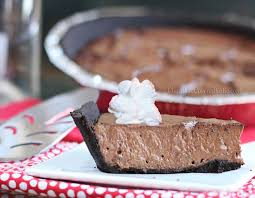 Chocolate Greek Yogurt Pie Healthy Dessert