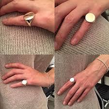 signet ring men signet rings gold ring silver ring signet ring women ring