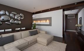 Modern Living Room Wall Decor Ideas Indoor  Incredible Modern - Living room wall decoration
