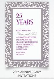 anniversary invitations invitation kits city