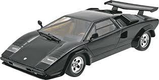 lamborghini countach kit car amazon com revell 1 24 lamborghini countach lp500s plastic model