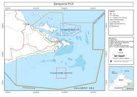Map Of Coral Reefs Semporna Biodiversity Hotspot Naturalis Biodiversity Center